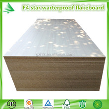 Made in China JIS proved F 4 star waterproof melamine faced flakeboard
