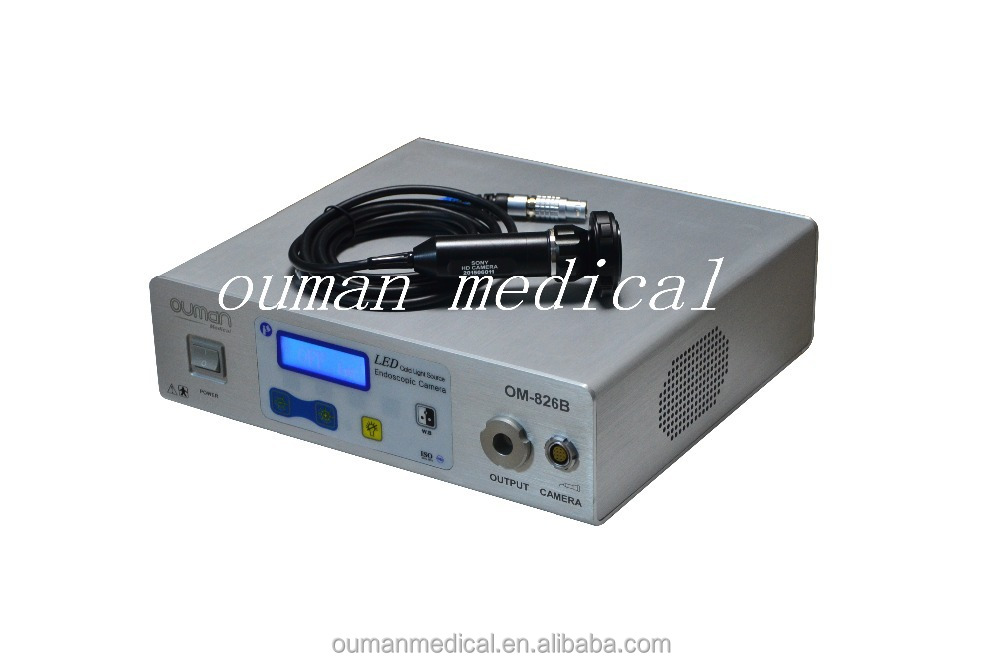 Light Source & SD Storage Function Integrated Medical Endoscope Camera