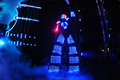 led costume led robot clothing led tron costume