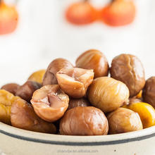 Sweet Roasted and peeled organic whole chestnuts