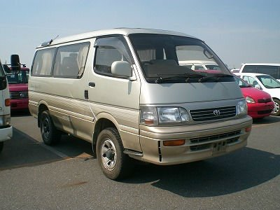 Japanese used car TOYOTA HIACE WAGON SUPER CUSTOM
