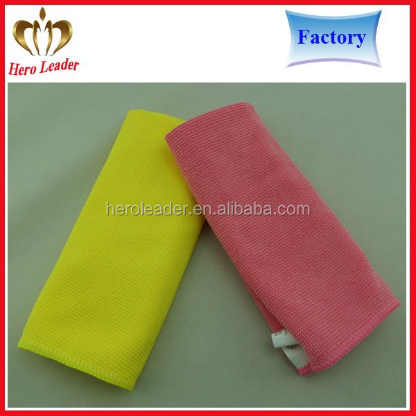 Hot selling all-purpose microfibra nop cloth 3M micro fiber towel microfiber pearl cloth