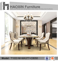 Use for hotel/home/outdoor luxury dining table and chair & dining table set & dining room furniture sets