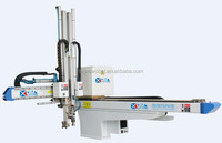 Low cost AC servo robotic arms for 400T injection machine