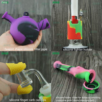 Smoking accessories new design sherlock water pipe glass and silicone honey straw tobacco pipe smoking