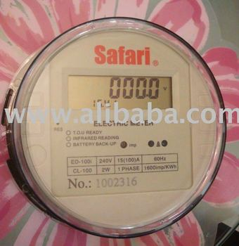 Safari electric meter