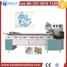 TKE908 CENTER FILLED SOFT CANDY WRAPPING MACHINE
