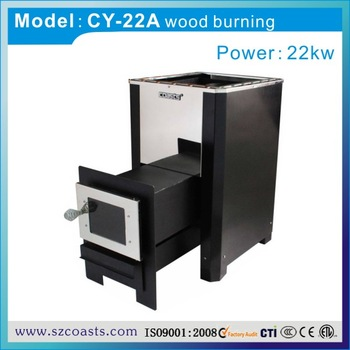Manufacturer Supply Portable Stainless Steel Smokeless Wood Burning Stove for Sauna and Steam Bath