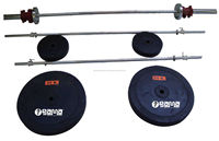 Weight Lifting Set Rubber Weights 100 Kg