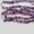 natural stone amethyst chips necklace