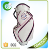Popular PU Leather Golf Staff Bag For Ladies
