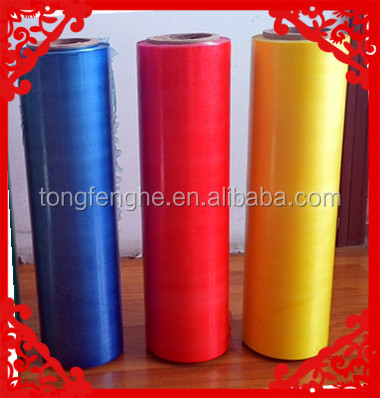 LLDPE Stretch film plastic colored plastic wrap