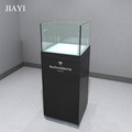 Popular glass tower case for jewelry display