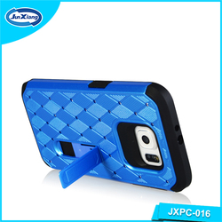 hot selling protective shockproof rugged hybrid rubber hard cover case for smaung s6