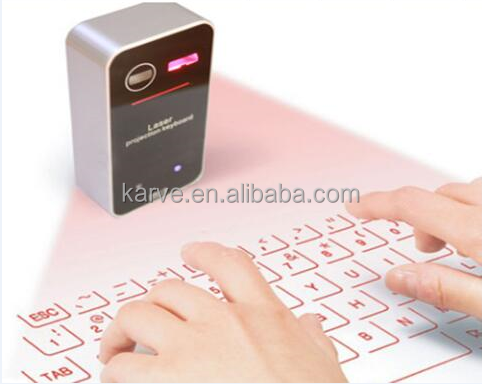 Laser Projection Bluetooth Virtual Keyboard for Smartphone and Tablets