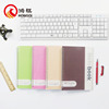 Z001 school office supplie pp/pvc spiral notebook,spiral notebook with color page,buik spiral notebook