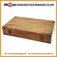 Customized Cheap Wooden Fruit Crates For Sale Made From Square Edge Smooth 4 Side Brown Vietnam Hardwood