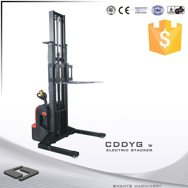 SHANYE hand battery operated forklift CDDYG-SL15