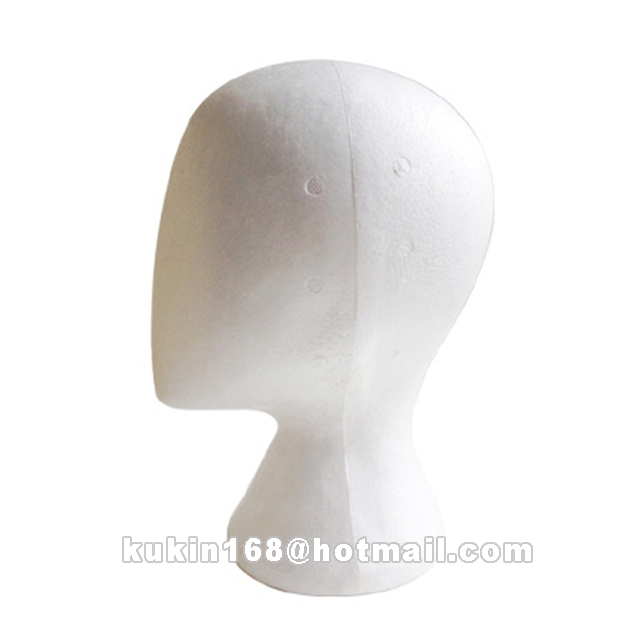 Abstract head model, Foam mannequin head used for hats display