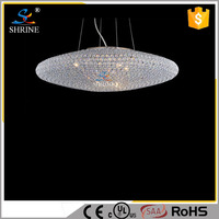 Europe And America Oval Crystal Lamp LED Pendant Lamp
