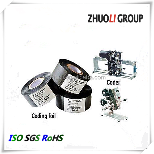 Zhuoli Hot Printing Foil for Date Coding and Coding Machine