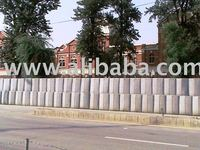 Security barriers/Hesco Blast walls
