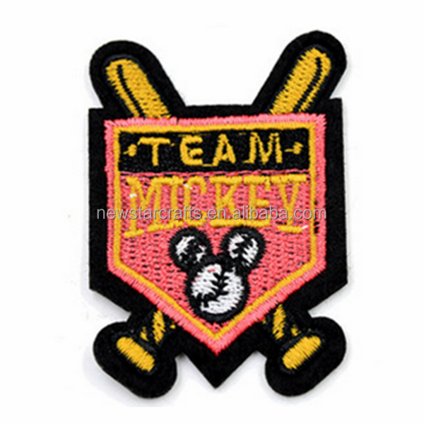Custom design blank embroidery patch wholesale
