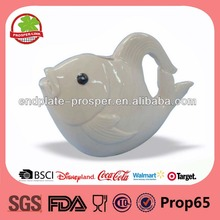 Fish ceramic garden water pot