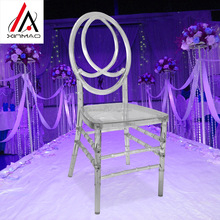 Cheap price crystal clear wedding resin phoenix chair for event decoration
