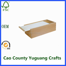 unfinished wooden boxes with sliding lids wooden slide top boxes
