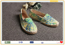 Printed fabric expensive profit china factory shoes