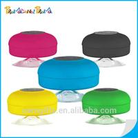 Mini Waterproof Wireless Bluetooth Shower Speaker With Sucker