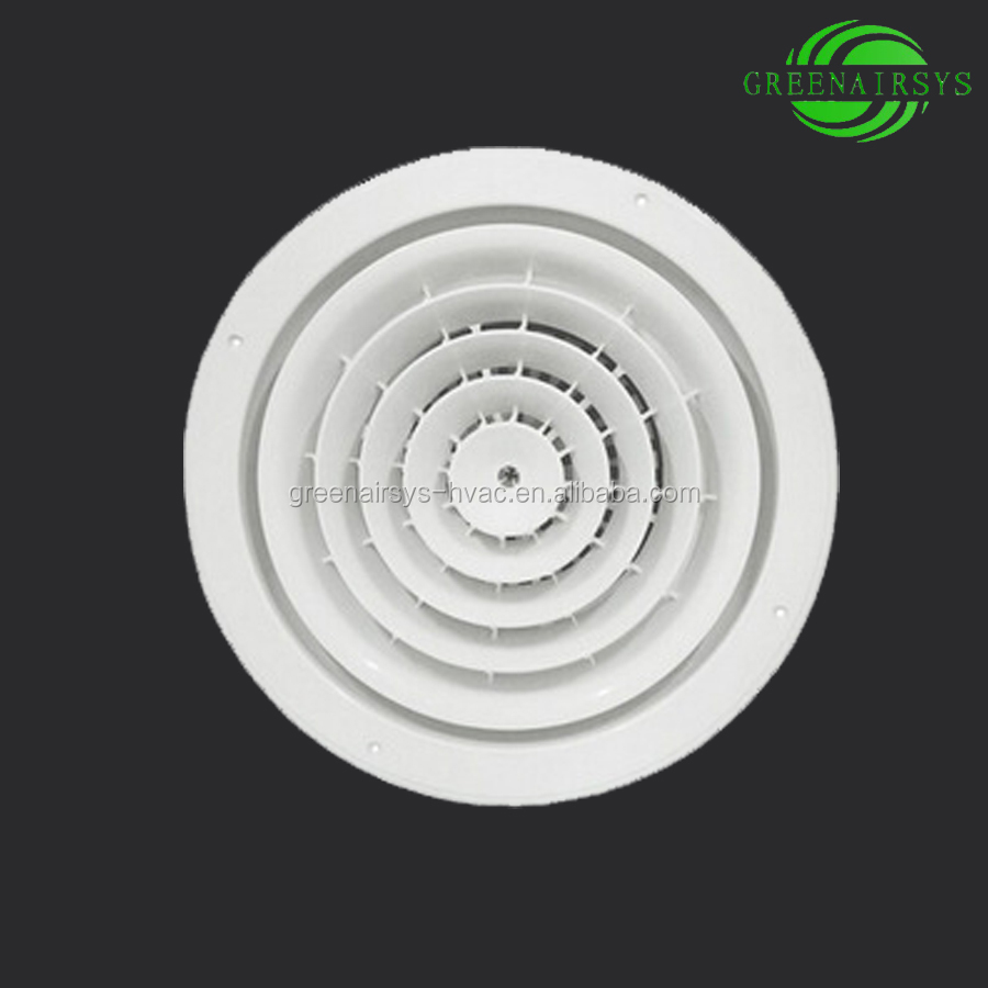 Hot Sale Round Plastic Ceiling Panel for Supply Ventilation