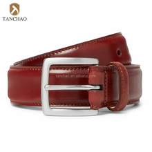 Chinese Handmade Western Style Leather Belts for Men