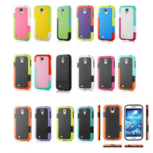 Shock proof unbreakable protective case for samsung galaxy s4
