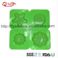 Rectangle/Round different shapes Handmade silicone soap molds