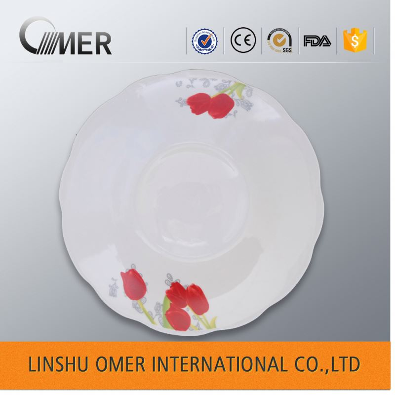 9 inch cheap stocks ceramic soup ceramic pie plate wholesale