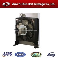 high performance aluminum plate &bar car radiator fan