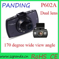 2.7' HD 1080P mini car dash camera g30 dual lens