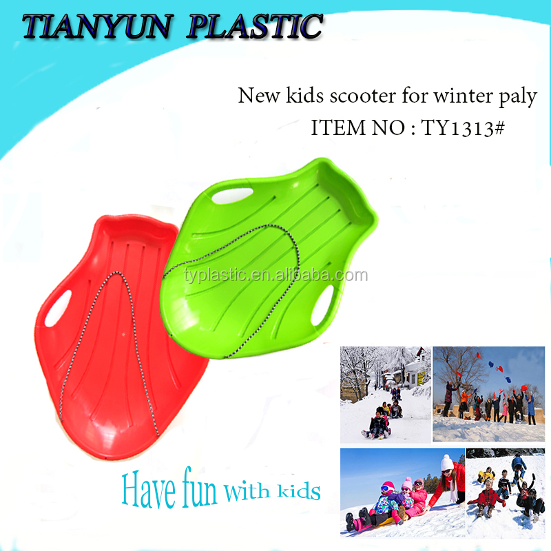 kids toys plastic snow scooters snowmobile toy for winter sports