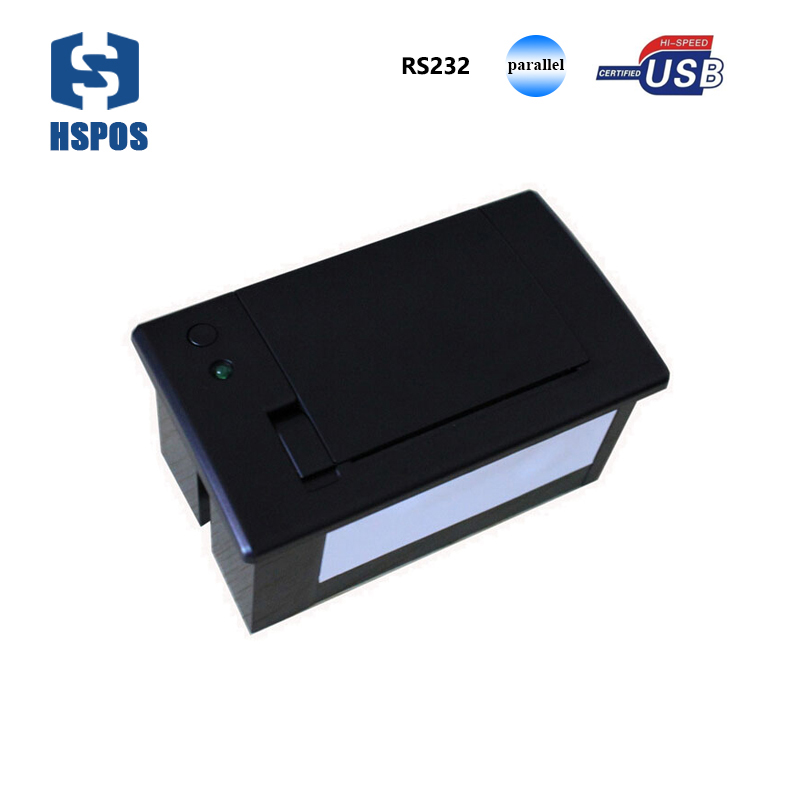 12v embedded panel mini thermal receipt printer with RS232 TTL port