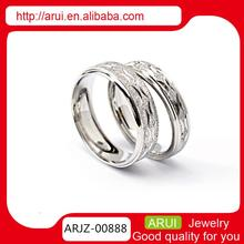 Sterling Silver Rings for Women Wholesale Silver couple Ring Wedding Gift Ring