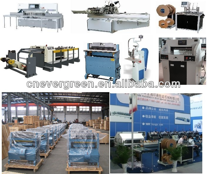 high quality safe program control cutting machine, small paper cutting machine