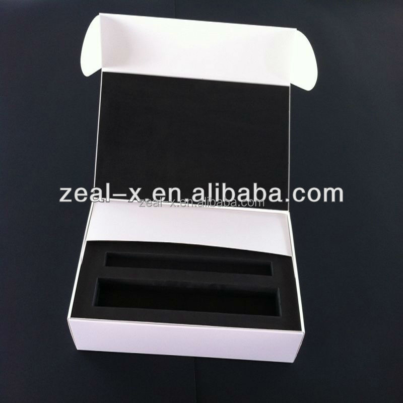 Professional factory popular manufacturers cardboard gift box with the EVA inner