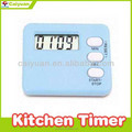 Mini electronic timers magnetic self-timer for cooking