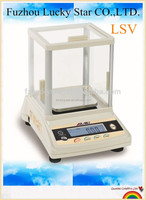 Digital weighing balance scale 0.01G with large clear LCD or LED display(LSV)