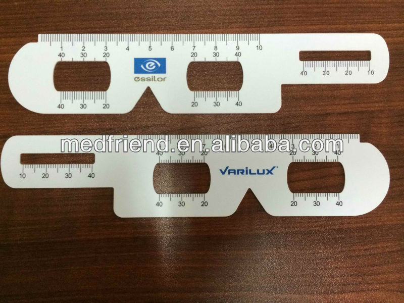 Ophthalmic/ Optical Ruler and Occluder, Eye Ruler