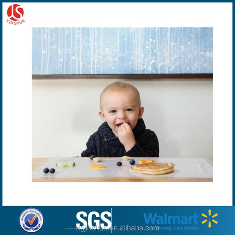 Disposable Baby Bibs & Plastic kids Placemats & BPA Free Table Toppers - 22 Ct Each Pack