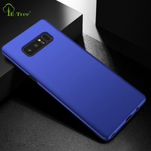 Top quality Luxury silky hard matte PC case for Samsung Galaxy Note 8, Note 8 plastic back cover case