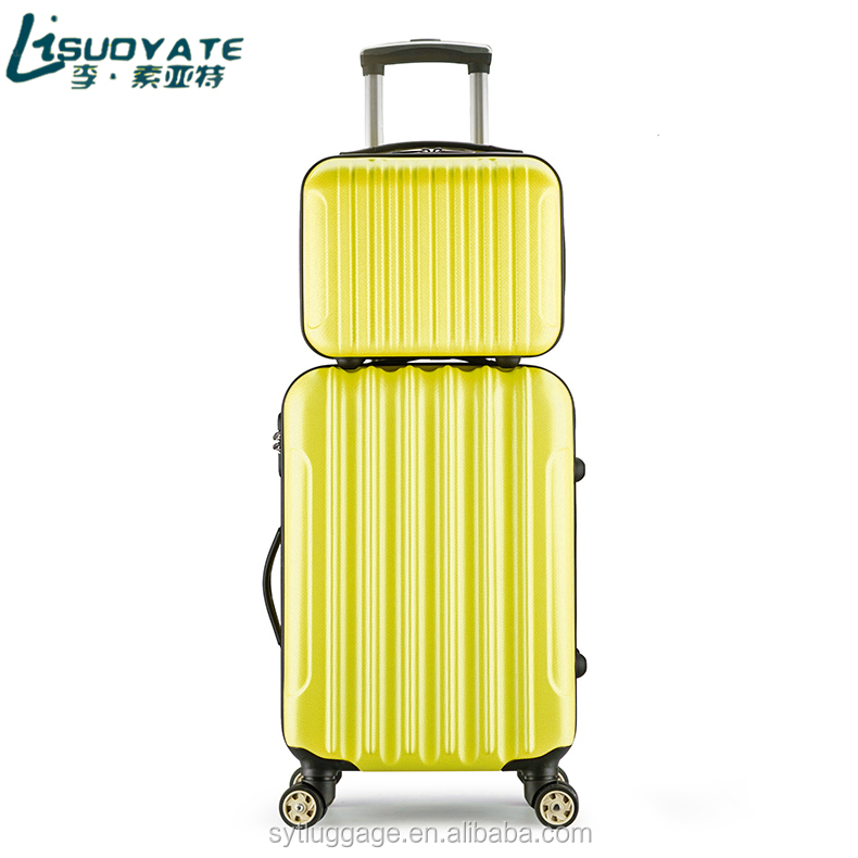 suitcase parts luggage set laggage bag travel luggage of 20/24/28 inches <strong>ABS</strong>